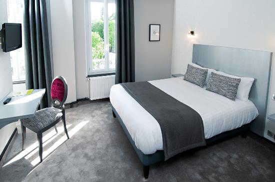 Hôtel-Restaurant Nougier : Chambre confort