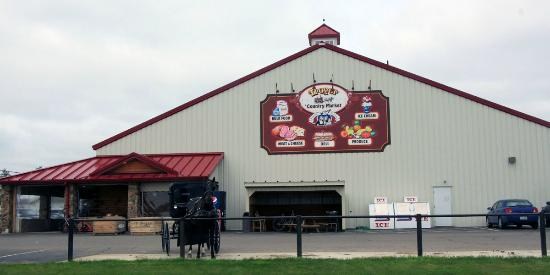 Amish Country: Troyer's Country Market