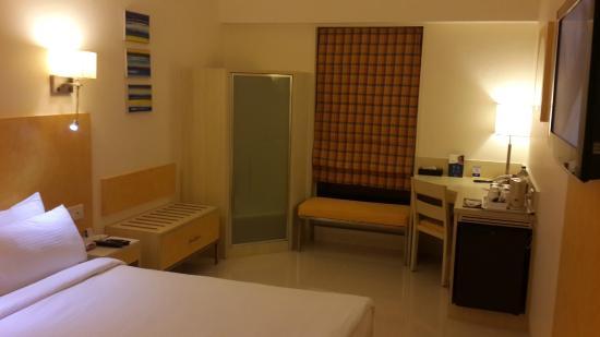 Grand Hometel, Mumbai : View of the room