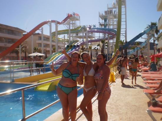 Bh Mallorca The Water Park Area