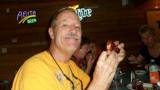 Cajun Food Tours: Gator legs on Cajun Food Tour, Lafayette, La.