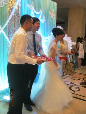 Universal Guilin Hotel: Wedding in the Hotel