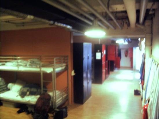 Jaeger's Hostel: Habitaciones compartidas