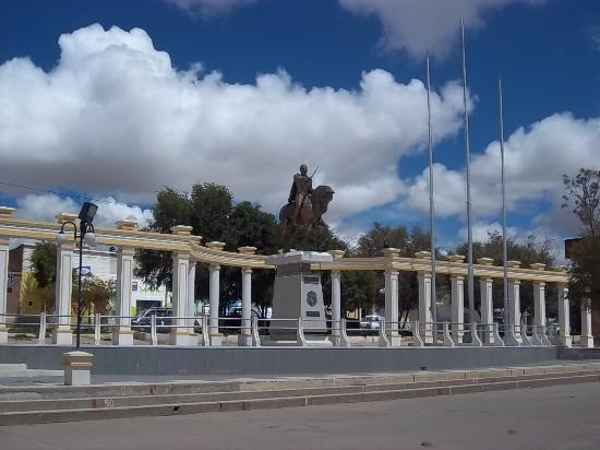 Villazon, Bolivia: Plazoleta Simón Bolívar