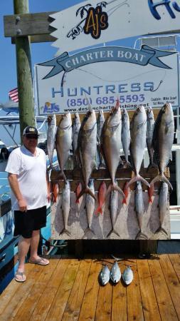 Huntress Charter Fishing: WoW!