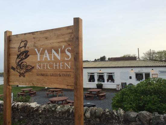 Yan's Kitchen: Don't let the outside or name fool you!