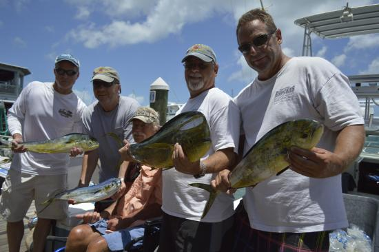 Fish on picture of fishmonster charters key west for Fish monster key west