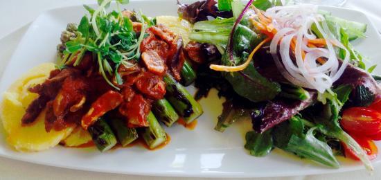 Queenston Heights Restaurant: Vegan special