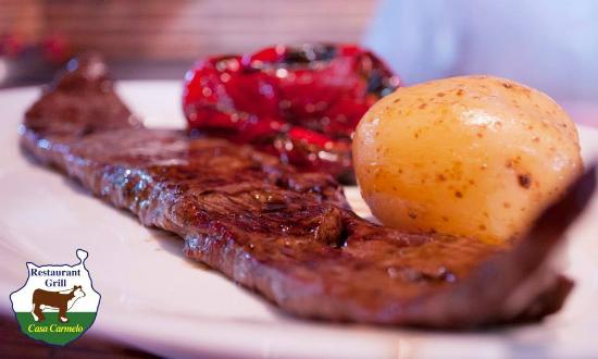 Grill Casa Carmelo : Ven a disfrutar de nuestros exquisitos platos de carnes a la brasa.
