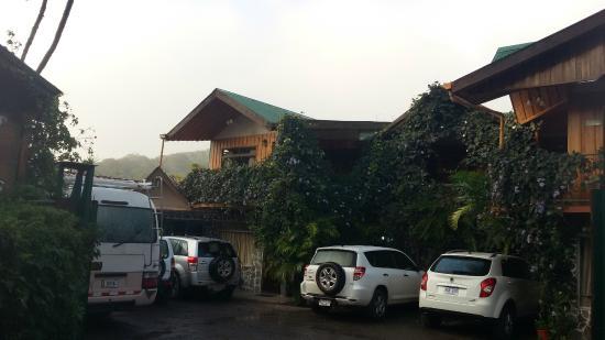 Historias Lodge: frente del hotel