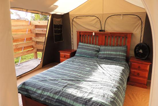 Childers Eco-lodge: Camping in style
