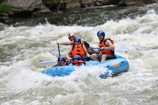 5 Rivers Adventures: white water rafting 1