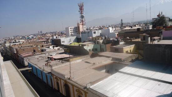 Casa Consuelo Hotel: Vista desde el cuarto del hotel