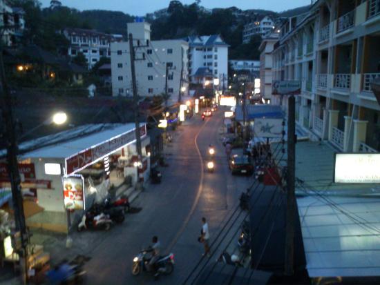 B-Bossa Patong Hotel: θεα απ το δωματιο