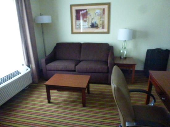 Hampton Inn & Suites Frederick-Fort Detrick: Sitting Area