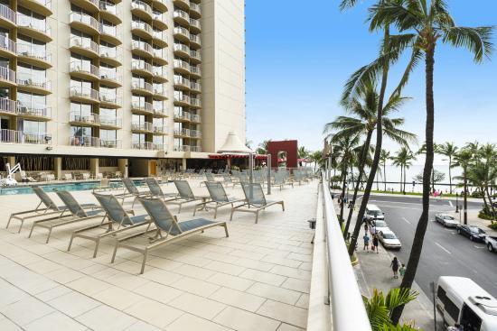 Aston Waikiki Beach Hotel Outdoor Pool And Sundeck