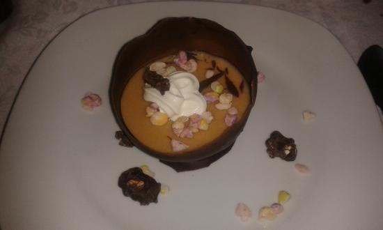 Marcelinos Bar e Steak House: mousse de chocolate com manteiga de amendoim