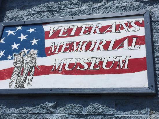 U.S. Veterans Memorial Museum: Entrance
