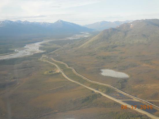 Northern Alaska Tour Company: Pipeline and Dalton Highway outside of Coldfoot, Alaska