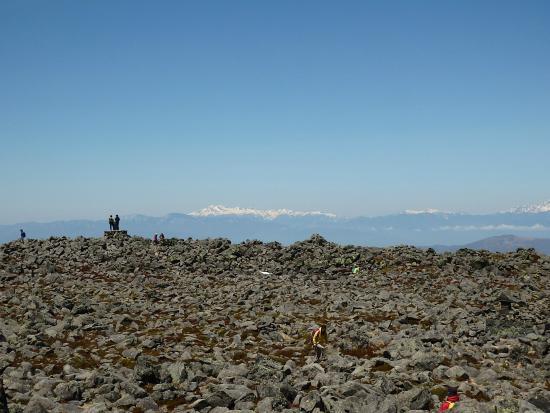 Mt. Tateshina: 頂上からの風景