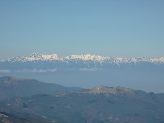 Mt. Tateshina: 北アルプス