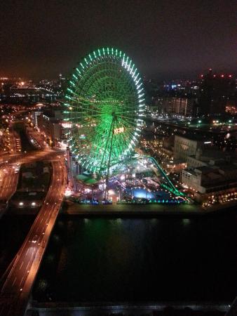 The Yokohama Bay Hotel Tokyu: 観覧車も間近です