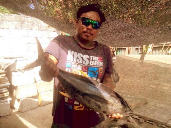 Warung Bintangbali: fresh tuna!