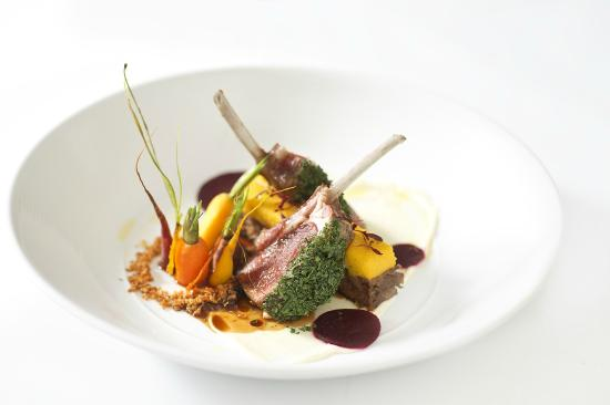 Rocket Restaurant: Roasted Lamb Rack