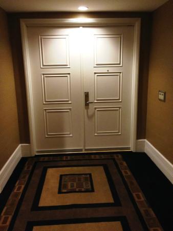 Trump International Hotel Las Vegas: Double Door Entrance To Suite