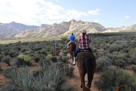 Fairfield Inn St. George: Out and about on the horses