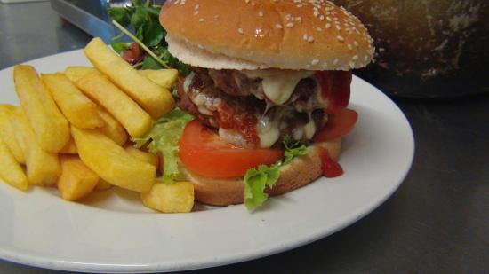 The Plough Inn: The Plough Burger