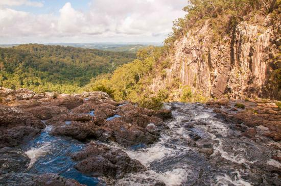 Bangalow, Australien: Don't step over the edge