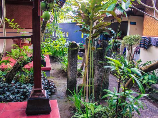 Pondok Frog Bungalow: The outside area