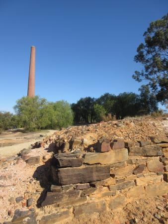 Beehive Mine Chimney