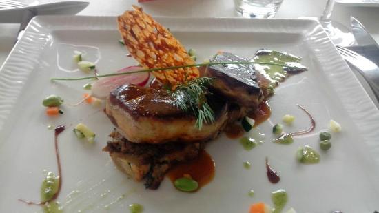 Phoebus Restaurant: Foie gras poellé