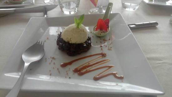 """Phoebus Restaurant: Gâteau chocolat et sa """"Georgette"""""""
