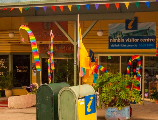 Nimbin, Australia: Entry point