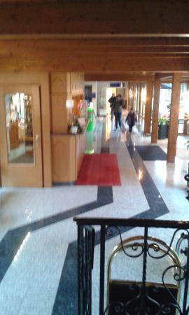 Parkhotel Waldeck: Hall entrée de l'hôtel