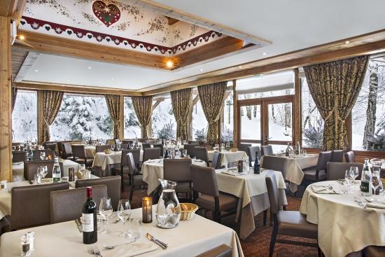 restaurant - Photo de Hotel Beauregard, La Clusaz - TripAdvisor