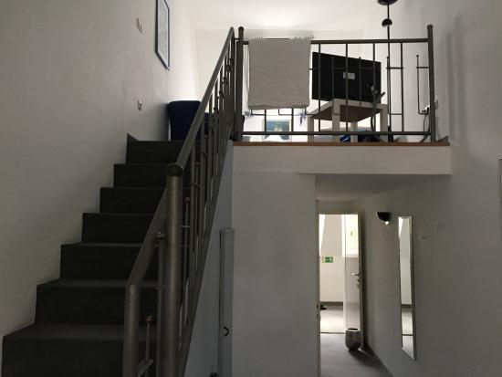 Hotel Drahthammer Schloss'l: Upstairs sleeping area