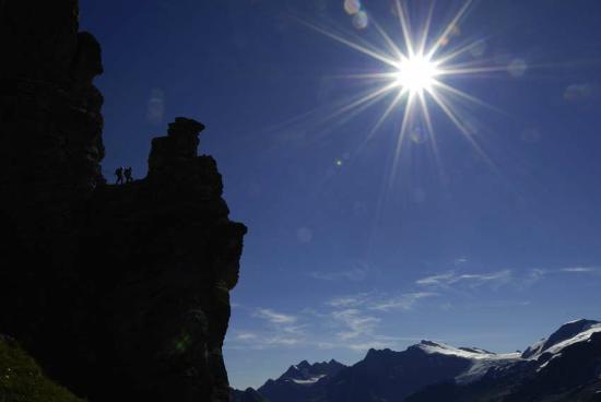Klettersteig Tälli : Tälli klettersteig