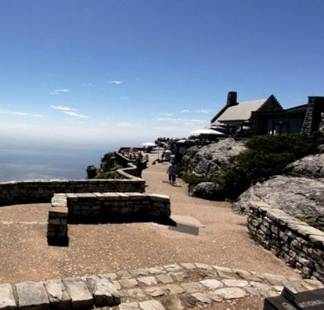 Table Mountain Cableway WiFi Lounge: Restaurante