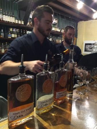 Lark Distillery Whisky Bar