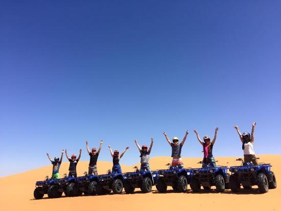 Moroccan Active Adventures: Morocco Sahara Quad Bike Adventures Tour