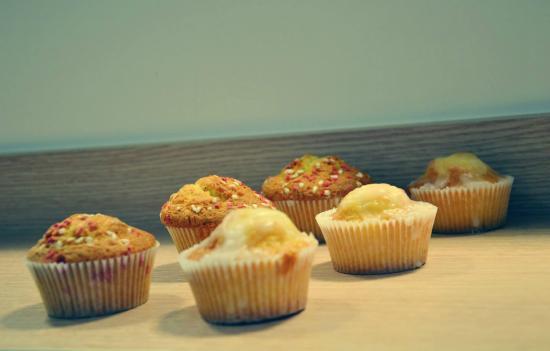 D'AQUI : Muffins citron et fougasse