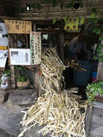 サトウキビ搾り機(城の茶屋) - Photo de Nakijin Castle Remains, Nakijin-son - TripAdvisor