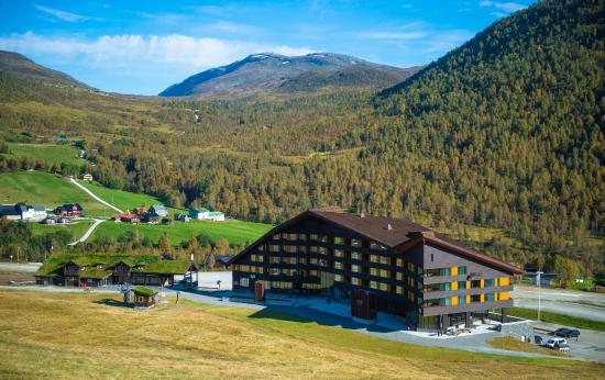 Vossestrand, Norway: Overview of Myrkdalen Hotel