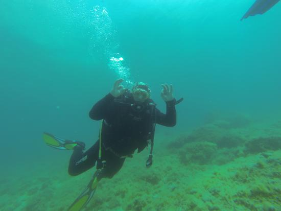 Opensea Diving: happy diver :) :)