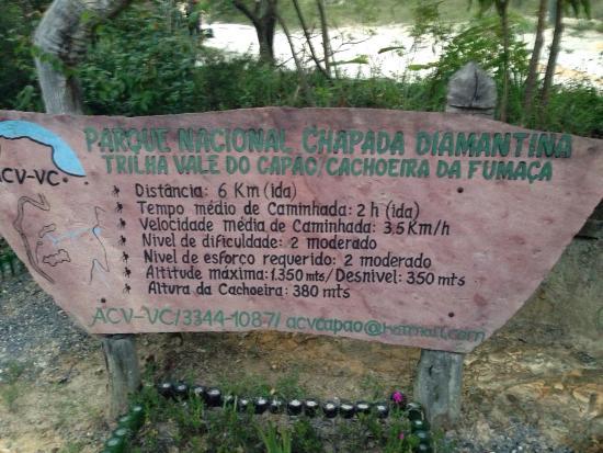Fumaca Falls: Associação de guias do vale do capão recomendo para fazer a trilha com eles, melhor custo benefí
