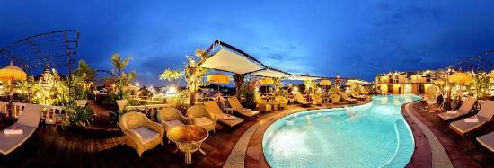 Terrasse des Elephants : Rooftop Pool